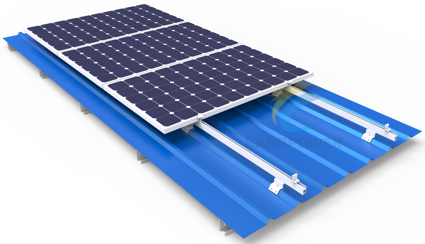 Trapezoidal Metal Roof Mounting Pitched Roof Mounting System Solar Mounting Systems Solar Racking Leading Manufacturer